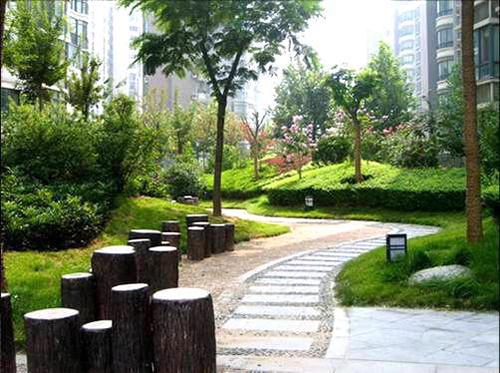 常新•紫竹苑、御竹苑景观绿化工程